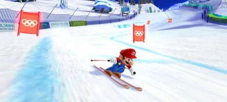 Mario et Sonic font du ski à Sotchi