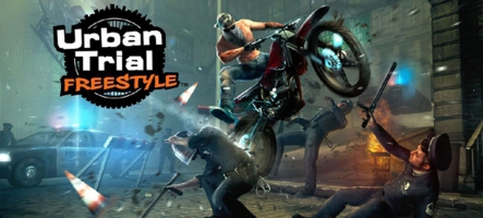 Urban Trial Freestyle est disponible sur Steam