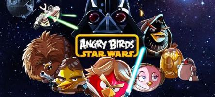Angry Birds Star Wars : La Force en pleine gueule