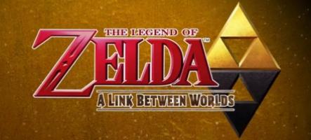 Zelda: A Link Between Worlds vous laisse le choix des donjons