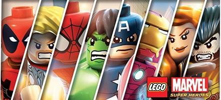 LEGO Marvel Super Heroes se lance en vidéo
