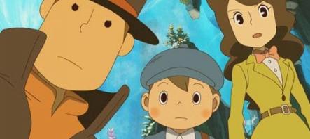 (Test) Le Professeur Layton et l'héritage des Aslantes (Nintendo 3DS)
