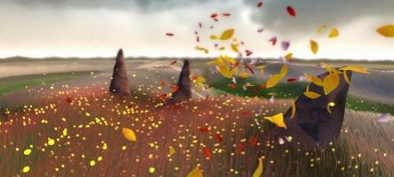 Flower : Comparaison PS3 et PS4