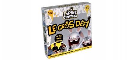 Concours : Gagnez 10 jeux Lapins Crétins Le Gros défi !