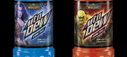 Une pub pour la boisson World of Warcraft