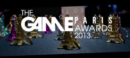 Le palmarès des Game Paris Awards 2013