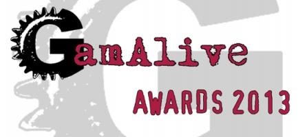 GamAlive Awards 2013 : la liste des jeux sélectionnés