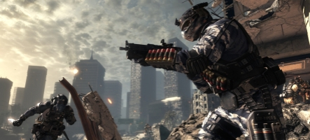 Les ventes de Call of Duty : Ghosts sont en forte chute