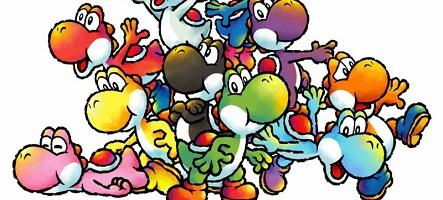 Yoshi revient sur Nintendo 3DS avec les hirondelles