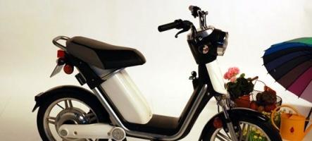 e-Mo, le scooter vert de Matra