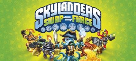 De nouvelles figurines Skylanders Swap Force