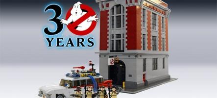 Après Lego Retour vers le futur, voici Lego Ghostbusters !