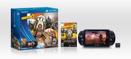 Un pack Borderlands 2 pour la PS Vita slim aux USA