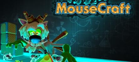 Jouez avec des rats de labo dans MouseCraft