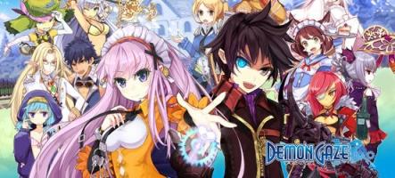 Demon Gaze : un RPG nippon avec des filles aux gros seins