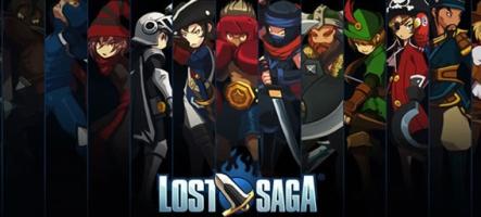 Nos premières impressions sur Lost Saga, le MMO nerveux