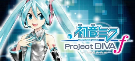 Sega sort Hatsune Miku: Project DIVA f sur PS Vita