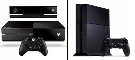 La PS4 et la Xbox One au coude à coude en termes de ventes