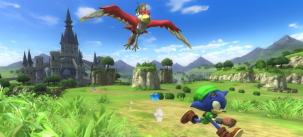 Sonic se la joue Link le temps d'un DLC