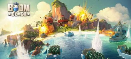 Boom Beach, par les développeurs de Clash of Clans