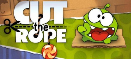 Cut the Rope disponible sur Nintendo 3DS
