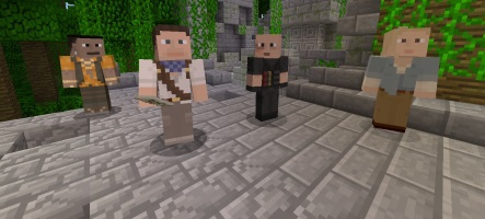 Des skins made in Sony pour Minecraft