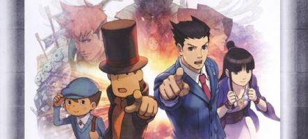 (Test) Professeur Layton vs Phoenix Wright : Ace Attorney (Nintendo 3DS)