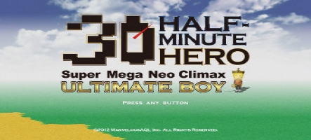 Half Minute Hero: The Second Coming pour le 4 avril