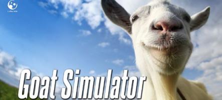 Goat Simulator : Une nouvelle carte, de nouvelles chèvres et un mode multijoueur