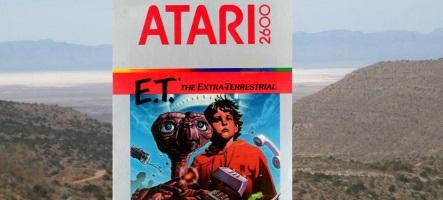 Les cartouches légendaires d'E.T. enfin déterrées ?