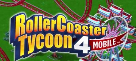RollerCoaster Tycoon 4 débarque sur iOS et bientôt sur PC