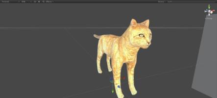 Un simulateur de chat en développement...