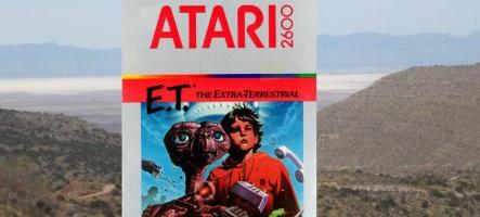 Des cartouches E.T. pour Atari 2600 déterrées au Nouveau-Mexique