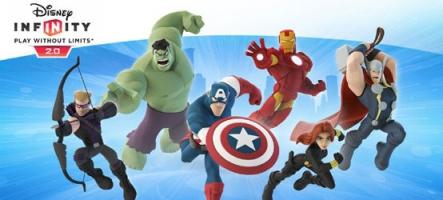 Disney Infinity 2.0 : Les Super Héros Marvel débarquent en figurines !