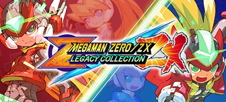 Mega Man Zero/ZX Legacy Collection (PC, PS4, Xbox One, Nintendo Switch)