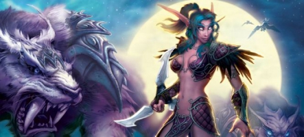 World of Warcraft : la femme Elfe de la Nuit devient une grosse bonnasse