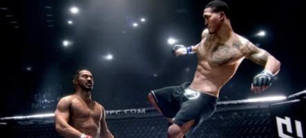 EA Sports UFC : découvrez les premières images de gameplay