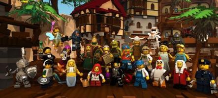 Lego Minifigures Online, un MMORPG tout jaune