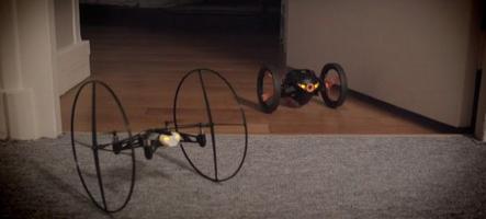 Parrot mini-drones : les jouets du futur ?