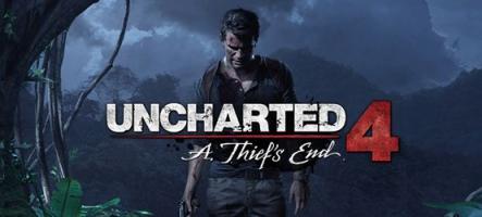 Uncharted 4 : A Thief's End annoncé en 2015 sur PS4