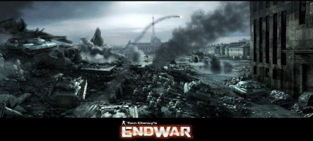 Tom Clancy's EndWar Online dévoile son alpha