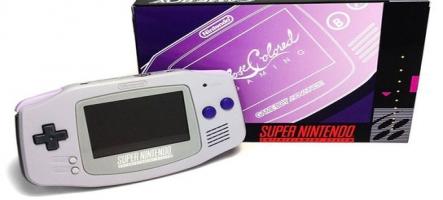 Une nouvelle GameBoy Advance au look Super NES !