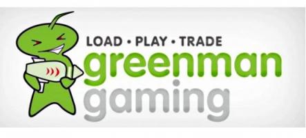 Mega soldes de jeux vidéo chez Greenman Gaming
