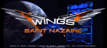 Wings of Saint Nazaire: un space shooter rétro