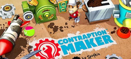 Contraption Maker sort sur PC