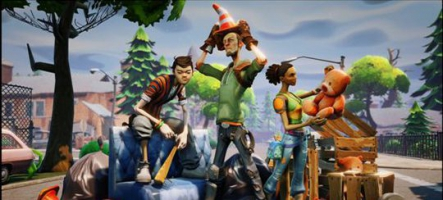 Fortnite : Epic Games se la joue MineCraft