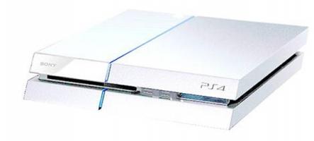 La PS4 blanche en exclusivité dans certains pays d'Europe seulement