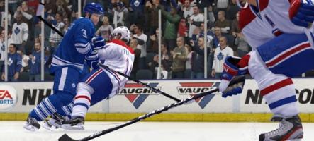 Nouveau trailer NHL 15 sur la physique réaliste du titre
