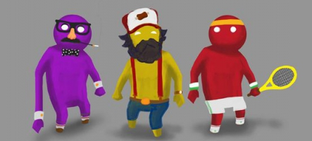 Gang Beasts, un nouveau jeu édité par Double Fine