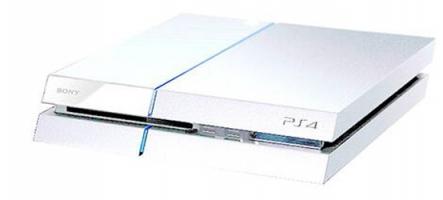 Découvrez la PS4 blanche